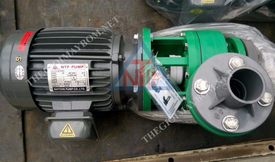Máy bơm hóa chất NTP UVP250-12.2 20 3HP