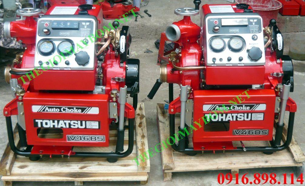 Máy bơm cứu hỏa Tohatsu V46BS