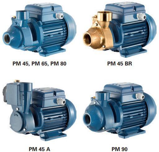 Máy bơm nước đẩy cao Pentax PM Series